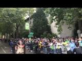 Болельщики «Сиэтла» на чемпионском параде