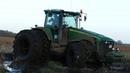 Best Of John Deere 8530   Pure Sound   Mudding, Stucks, Pulling Working Hard   Danish Agriculture