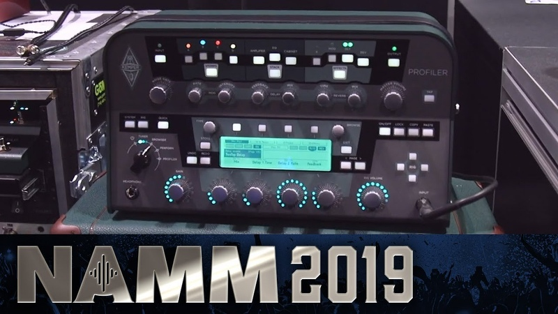 New Software Editor and Speaker Cabinets from Kemper! - NAMM 2019