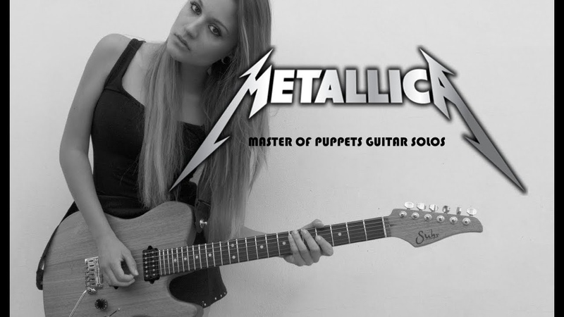 METALLICA Master Of Puppets Guitar Solos Cover 1 2