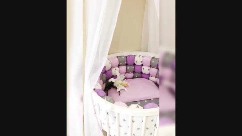 Комплект в кроватку БомБон-2