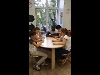 Kids 10-11 y.o. with Simon