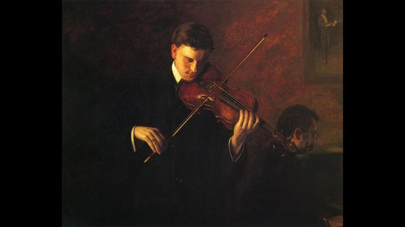 Violinist Robin Wilson plays Largo andante from Tartinis Violin Concerto D.96