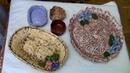 CUENCOS, BANDEJA, FRUTERO DE MASA DE PAPEL - MASS PAPER,BOWL, BASKET FRUIT, PLATE