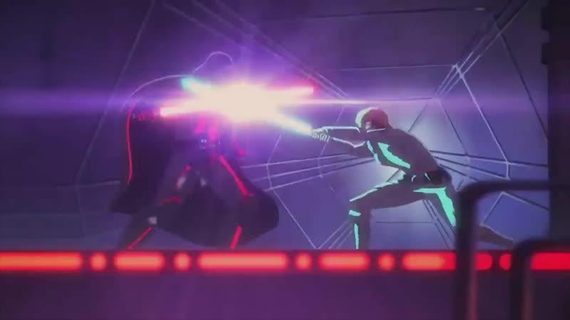 Люк Скайуокер vs Дарта Вейдера ― Galaxy of Adventures