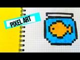 Como dibujar una bonita pecera- PIXEL ART