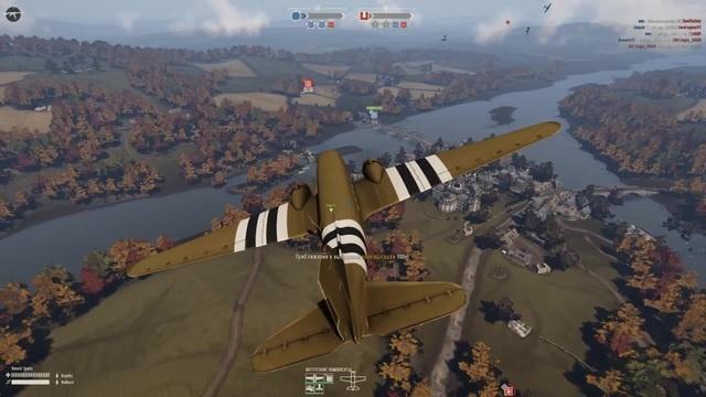 Plane drifting