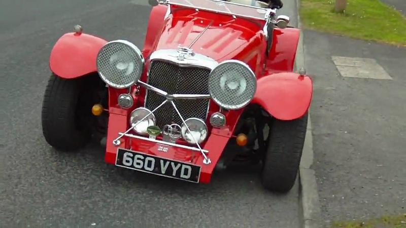 Jaguar SS100 Evocation