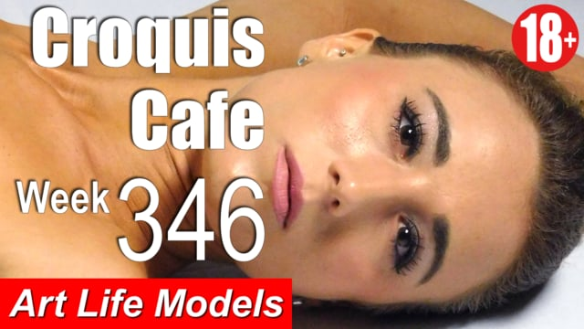 Croquis Cafe Figure Drawing Resource No. 346