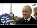 Putin über Macrons Europaarmee auf deutsch