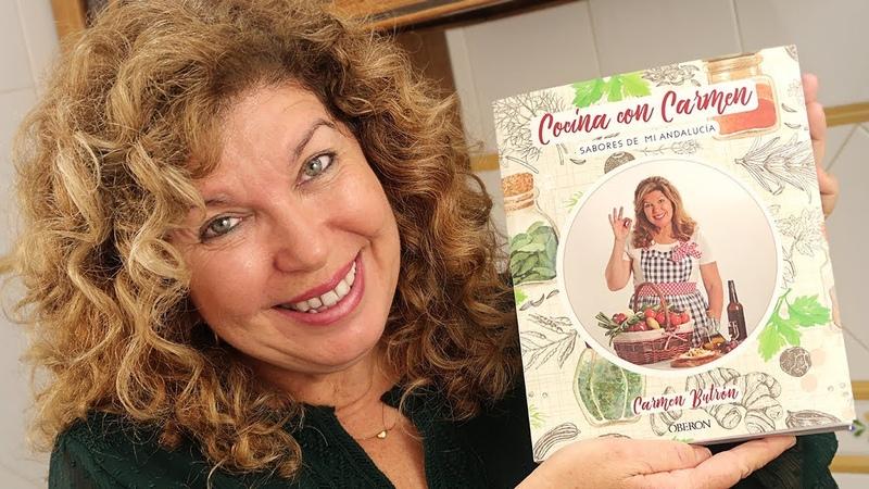 Presentación de mi Libro Sorteo Cocina con Carmen