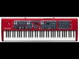 Nord USA Nord 3 HP 76-Key Digital Stage Piano with Hammer Action Portable Keybed Review end Demo