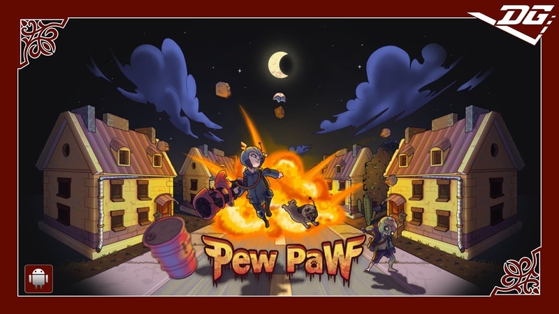 Pew Paw - Zombie survival (Android) Gaming Video