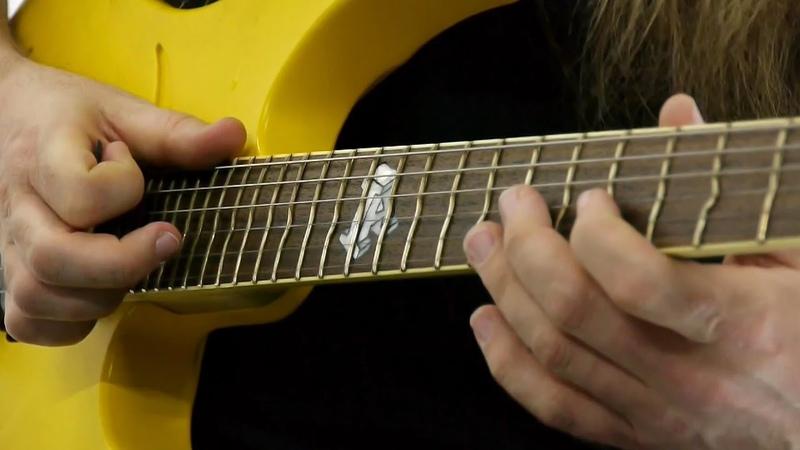 Tonalità e tapping Pt 2 Mattias Eklundh Guitar Lesson