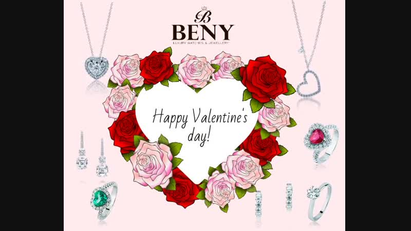 Valentines Day with BENY Klenotnictví
