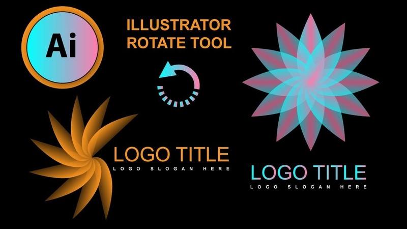 Illustrator Logo Design   illustrator Rotate Tool   Best Logo Design Tutorial