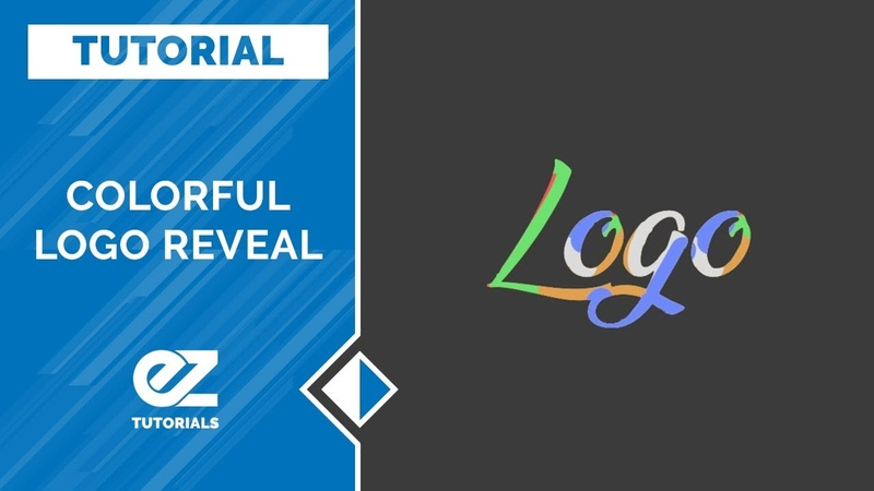How To Create A Colorful Logo Reveal After Effects Tutorial