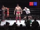Nobuhika Takada James Stone vs Yoji Anjoh Billy Scott