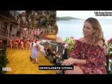 Лили Джеймс и каст «Mamma Mia! Это снова мы» для IMDb