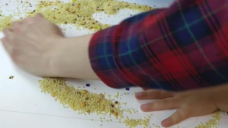 🚀🚀🚀 4 ВИДЕО игра с зерном на математическом планшете