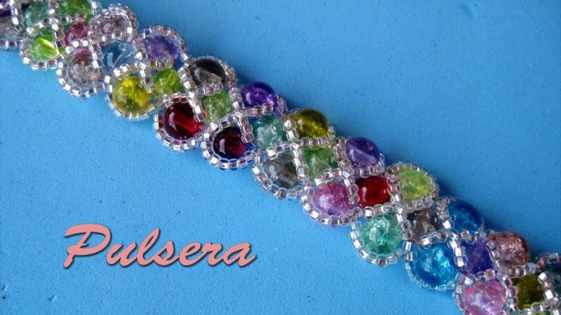 DIY - Pulsera de colores - Colorful bracelet - سوار ملون -Красочный браслет