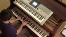 Jack Holliday Mike Candys The Riddle Nick Kershaw piano keyboard synth cover LIVE DJ FLO