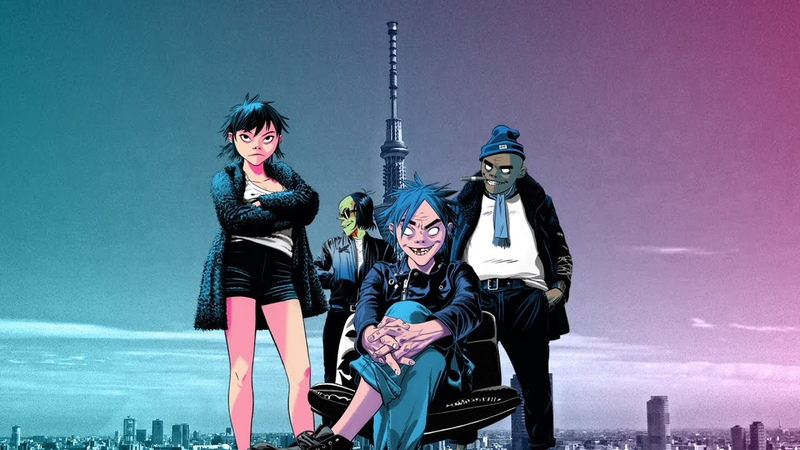 Gorillaz - The Now Now Live in Japan