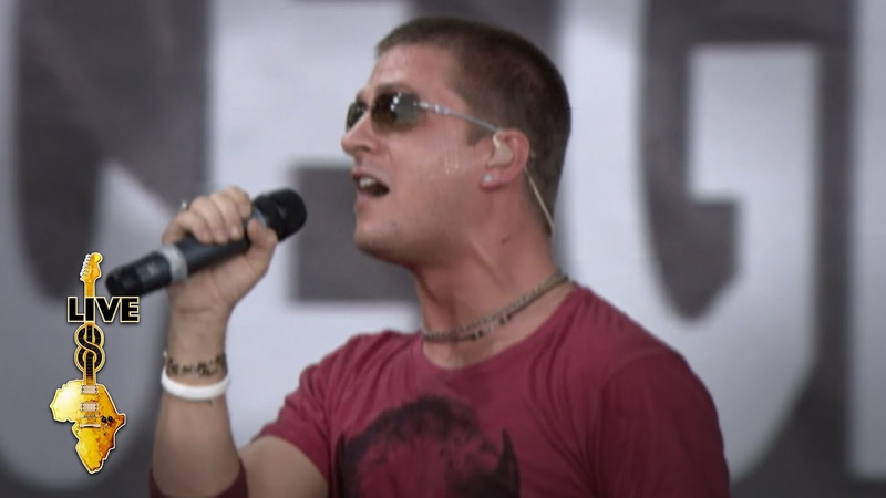Rob Thomas - Lonely No More (Live 8 2005)
