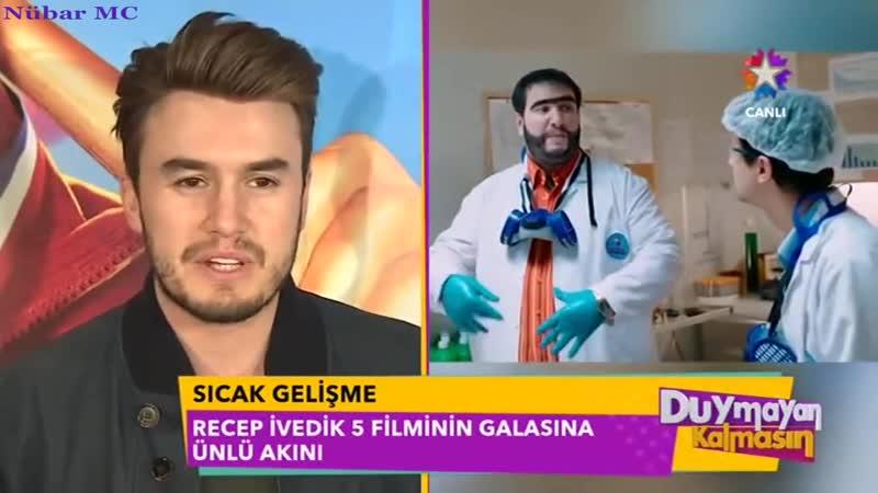 Mustafa Ceceli Recep İvedik 5 Galasında (Star TVDuymayan Kalmasın - 14.02.2017)