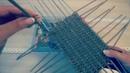 Плетем прямоугольное дно