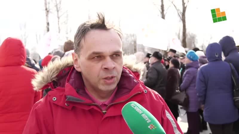 Митинг в Окуловке против оптимизации здравоохранения-3