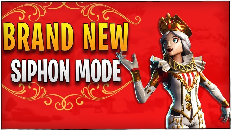 Fortnite - Brand New Siphon Mode with new Crackabella Skin!   DrLupo