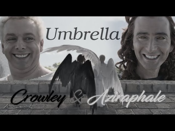 Crowley Aziraphale | Umbrella