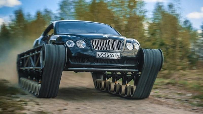 Bentley Ultratank. First Run. Eng Sub.