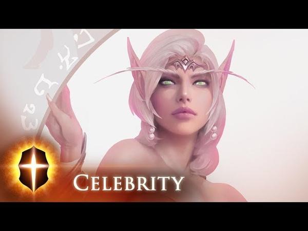 Celebrity - SpeedPainting by TAMPLIER 2018