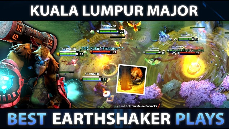 BEST EARTHSHAKER MOMMENTS of KUALA LUMPUR MAJOR Dota 2