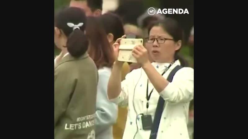 Китайские туристы в России. 在俄罗斯的中国游客