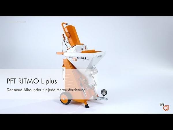 PFT RITMO L plus Обновлённая штукатурная станция широкого спектра применения