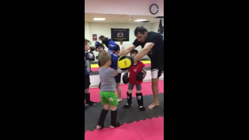 Тайский бокс у детей. Тренер Прокопенко Руслан