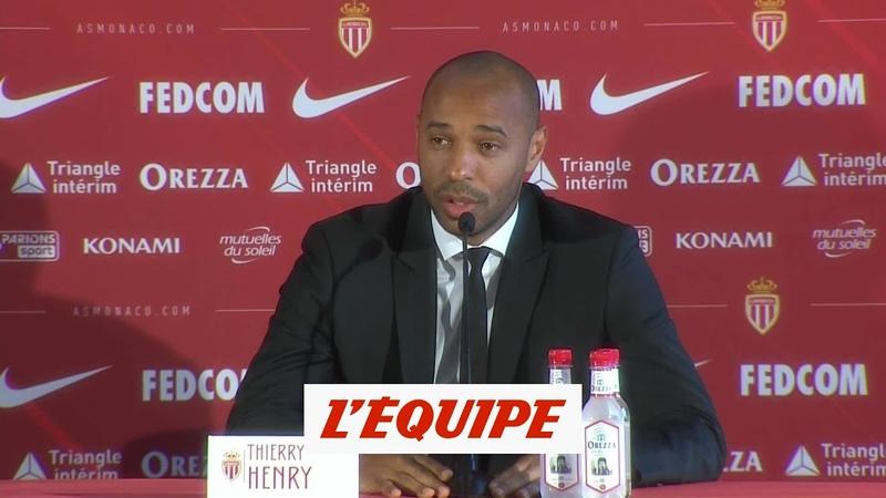 Henry La Belgique est reconnue comme une équipe Foot BEL