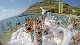 UTOPIA WORLD HOTEL Turkey 2018 A foam party Пенная вечеринка