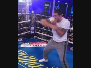 Открытая тренировка нашего чемпиона Александра Усика