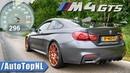 BMW M4 GTS 500HP ACCELERATION 0-296km/h DRAGY GPS by AutoTopNL