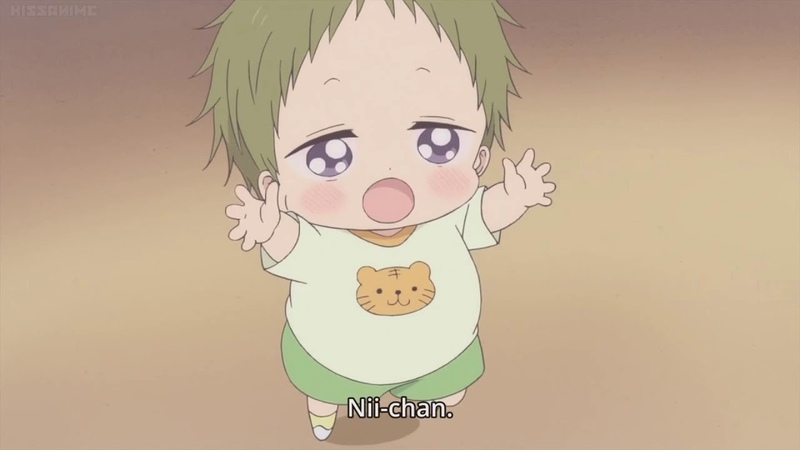 Gakuen Babysitters Kotaro Kawaii moments