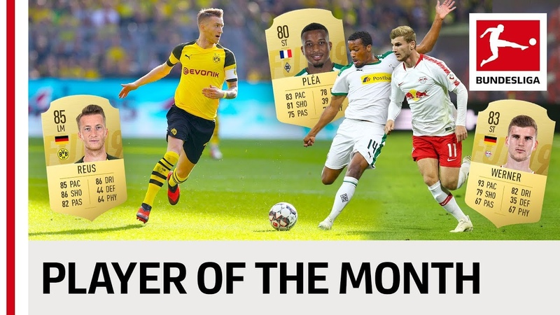 Reus, Plea, Hazard Co. - Vote Your Player Of The Month September!
