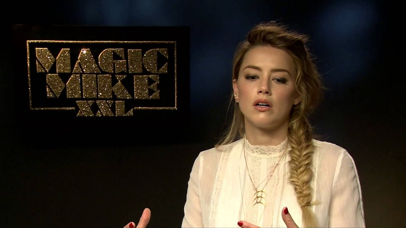 Interview with Amber Heard for Magic Mike XXL Buzz OTE TV