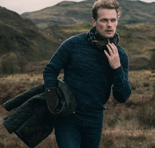 Sam Heughan Barbour Fall 2018 Limited Edition Collection