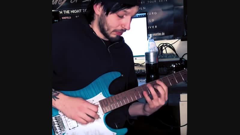 Fabian Dee Dammers 🎸 Guitarist for Udo Dirkschneider's U.D.O.