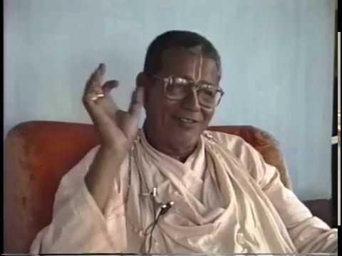 Srila B.S. Govinda Maharaj | Nabadwip 1989/10/27, part 1