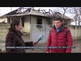Накануне ночью в Белогорском районе сгорел дом